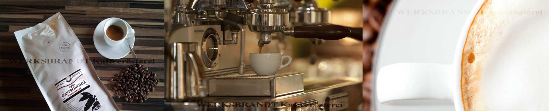 WERKSBRANDT Kaffeerösterei Impressionen Kaffeemaschine Espressomaschine Kaffeebohnen Cappuccino