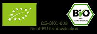 Bio zertifiziert - DE-ÖKO-006 - Nicht EU-Landwirtschaft
