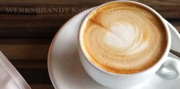 WERKSBRANDT Kaffeerösterei - Empfehlung - Cappuccino