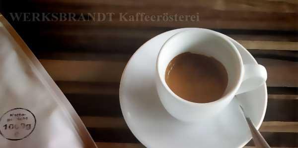 WERKSBRANDT Kaffeerösterei - Empfehlung - Espresso
