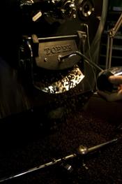 Werksbrandt Kaffeerösterei - Kaffeeausgabe