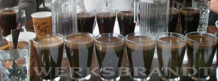 Werksbrandt Kaffeerösterei - schonend geröster Kaffee - Cupping