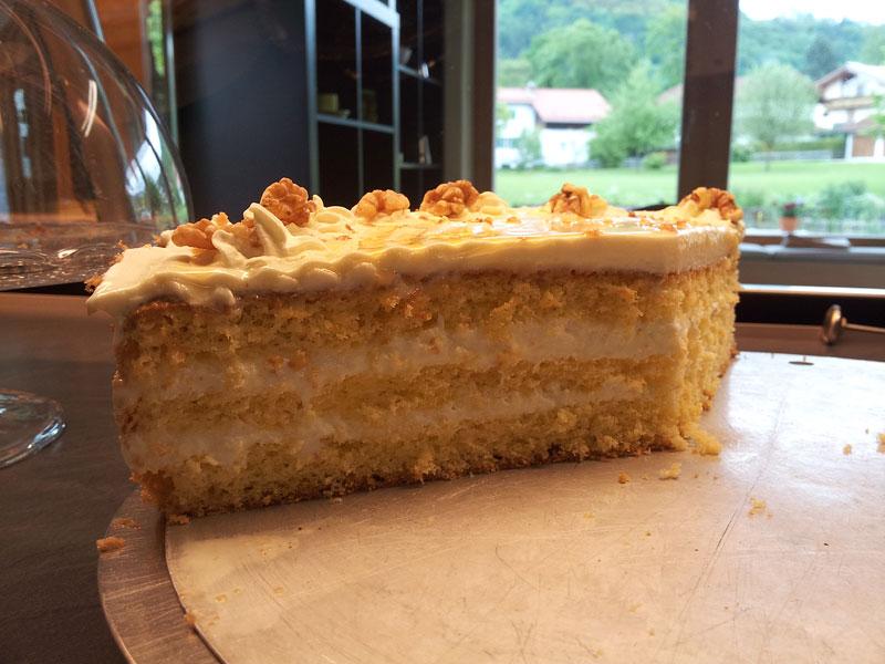 WERKSBRANDT Kaffeerösterei - Kaffeeladen am Dorfweiher - Kuchen