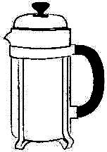 Werksbrandt Kaffeerösterei - Mahlgrad65 - French Press Pressstempelkanne