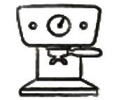 Werksbrandt Kaffeerösterei - Mahlgrad38 - einfache Haushalts Siebträgermaschine