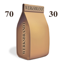 BistroCaffè 70-30 ausgewogen - 70% Arabica - equilibrato
