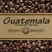 Guatamala Oriente Verde SHB Bio |  | vollmundig, rund und ausgewogen