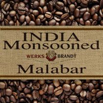 India Monsooned Malabar |  |  voller Körper - säurearm - nussig