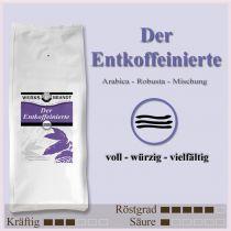 Der Entkoffeinierte |  | voll - würzig - vielfältig