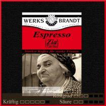 Espresso Zia |  | sehr intensiv - feine Süße - pfeffrig
