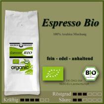 Espresso BIO fein - edel - anhaltend