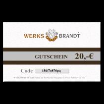 GUTSCHEIN 20,- EURO Freude schenken