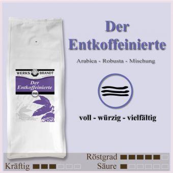 Der Entkoffeinierte
