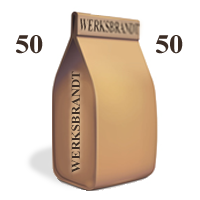 BistroCaffè 50-50 6x250g